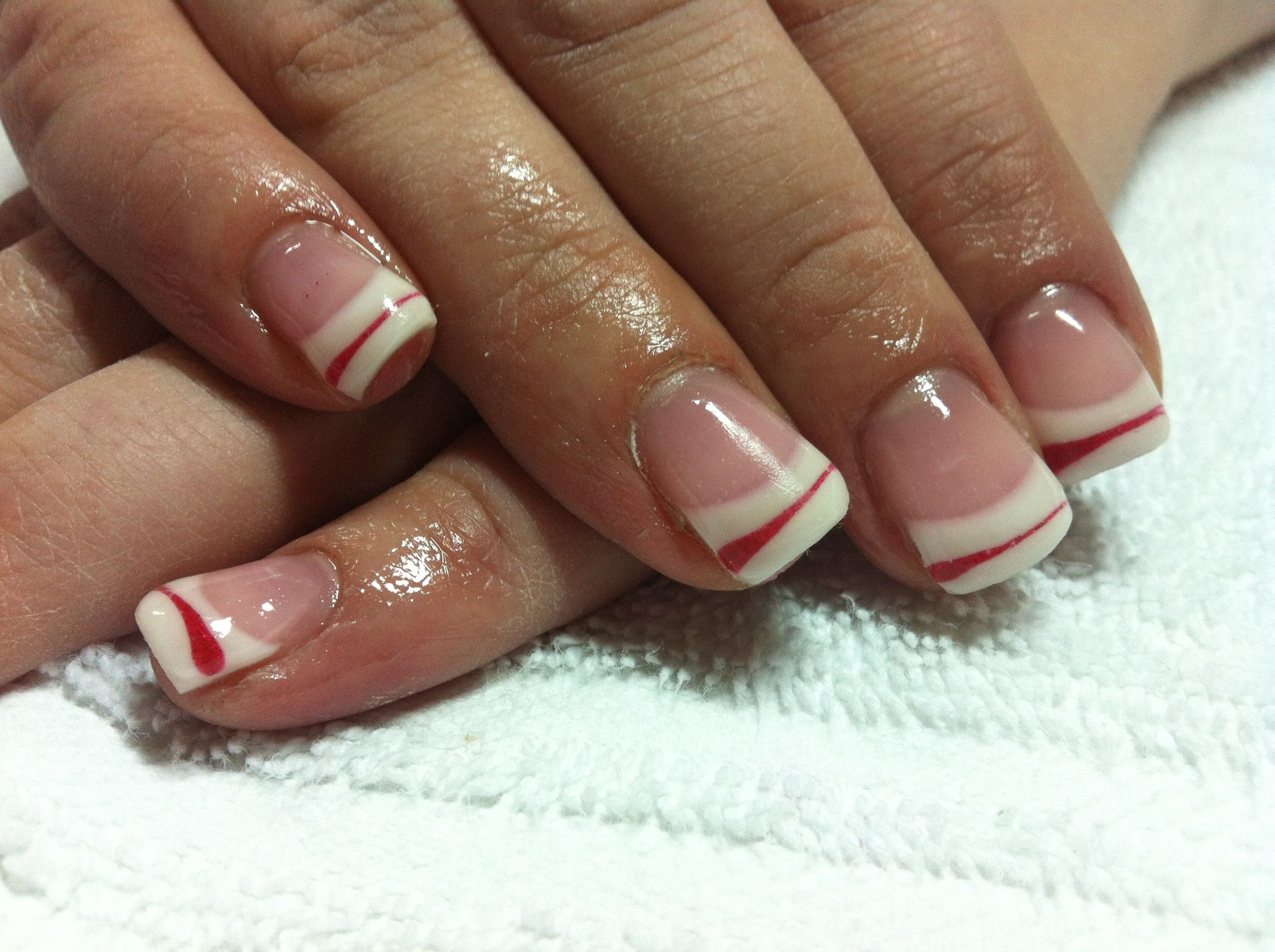 Colored french nail design - Colored French Tip Nail Designs Choice Image Nail Art Designs Nail Designs Gel Tips Images Nail