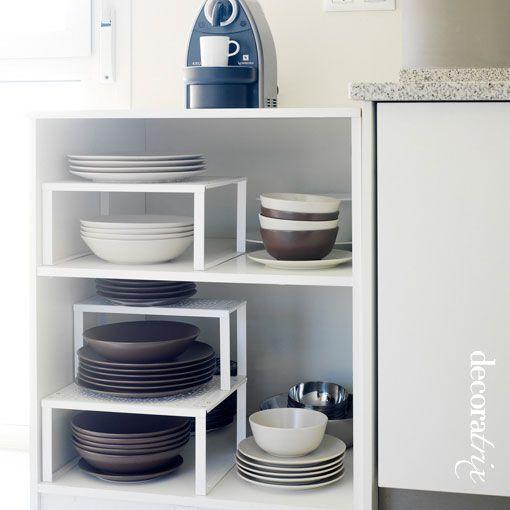 Una excelente soluci n para superficies desperdiciadas - Ideas para organizar armarios ...