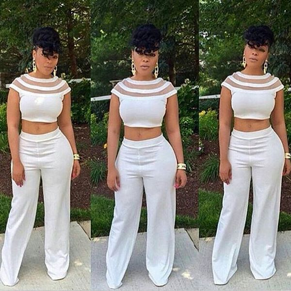 70a01db560bc Fashion women jumpsuit slim fit jumpsuits short sleeve union suit white  sexy jumpsuits jpg 600x600 All