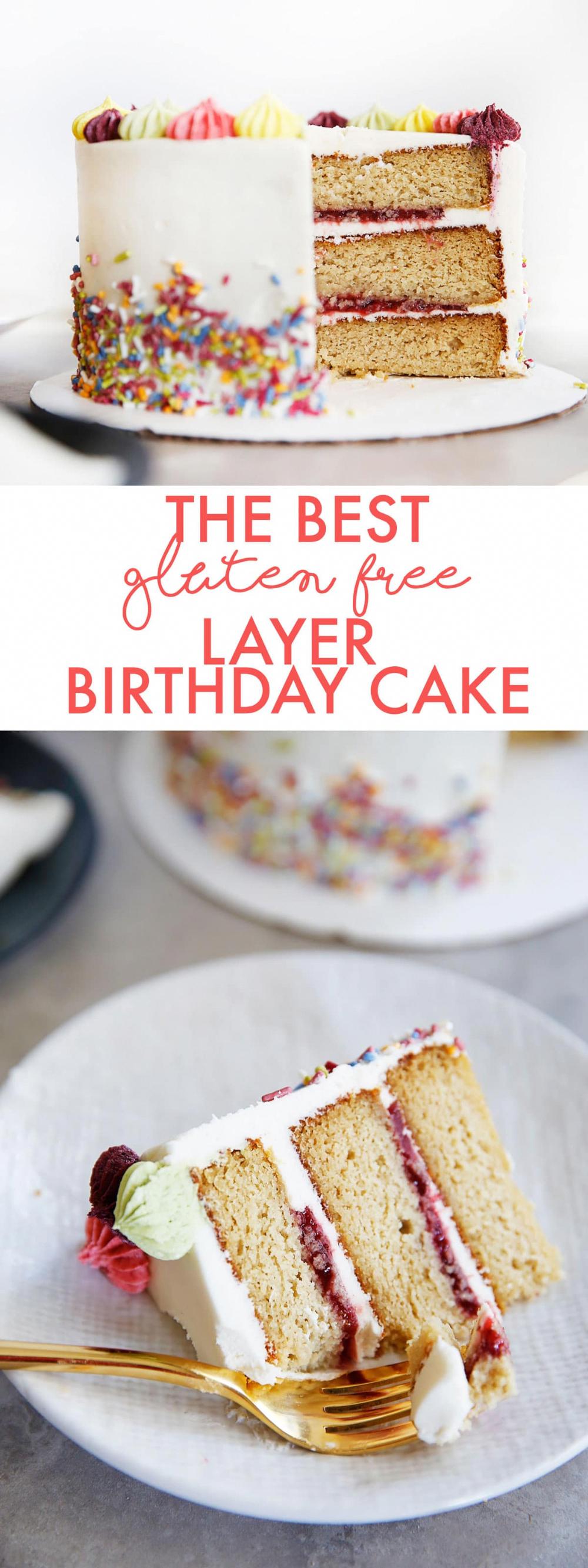 The BEST GlutenFree Layer Birthday Cake Lexi's Clean