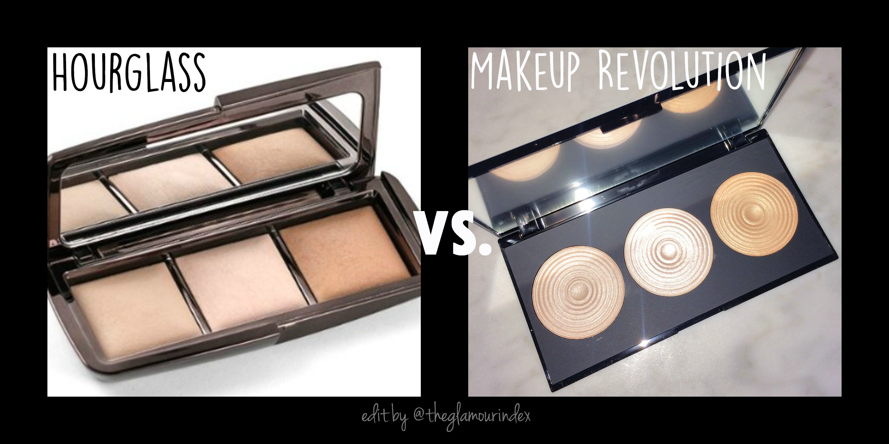 Hourglass Ambient Light Palette dupe = Makeup Revolution