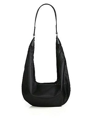 b0c77e28b248 The Row Nylon Sling Hobo Bag