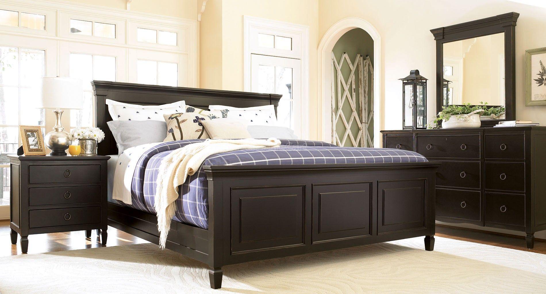 Summer Hill Panel Bedroom Set Midnight Universal Furniture California King Bedroom Sets Bedroom Furniture Sets Bedroom Design