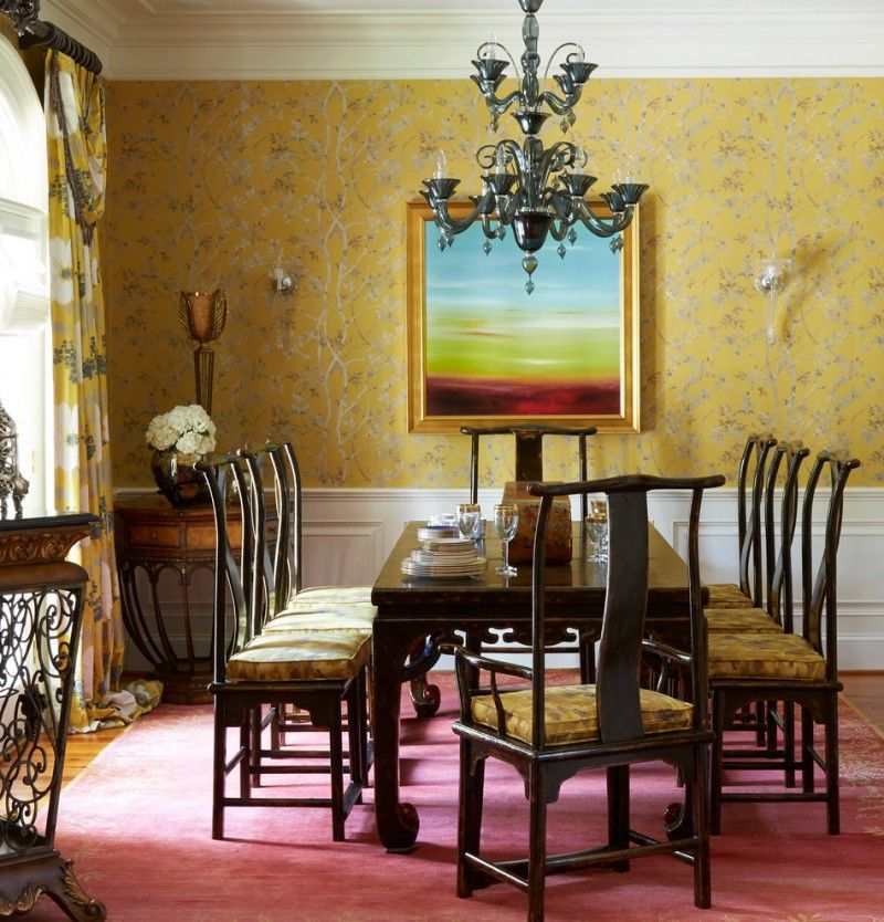 Impressive Yellow Dining Room Ideas To Take A Look At Yellow