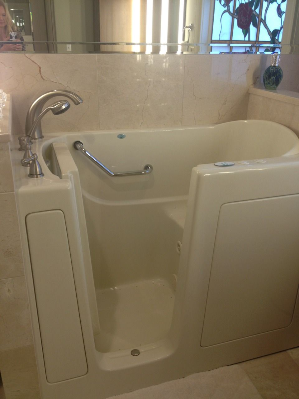 handicapped accessible tub installed to day - aging gracefully ...