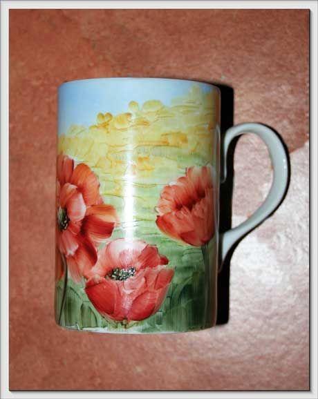 Voglio il mondo a colori Mug decorate
