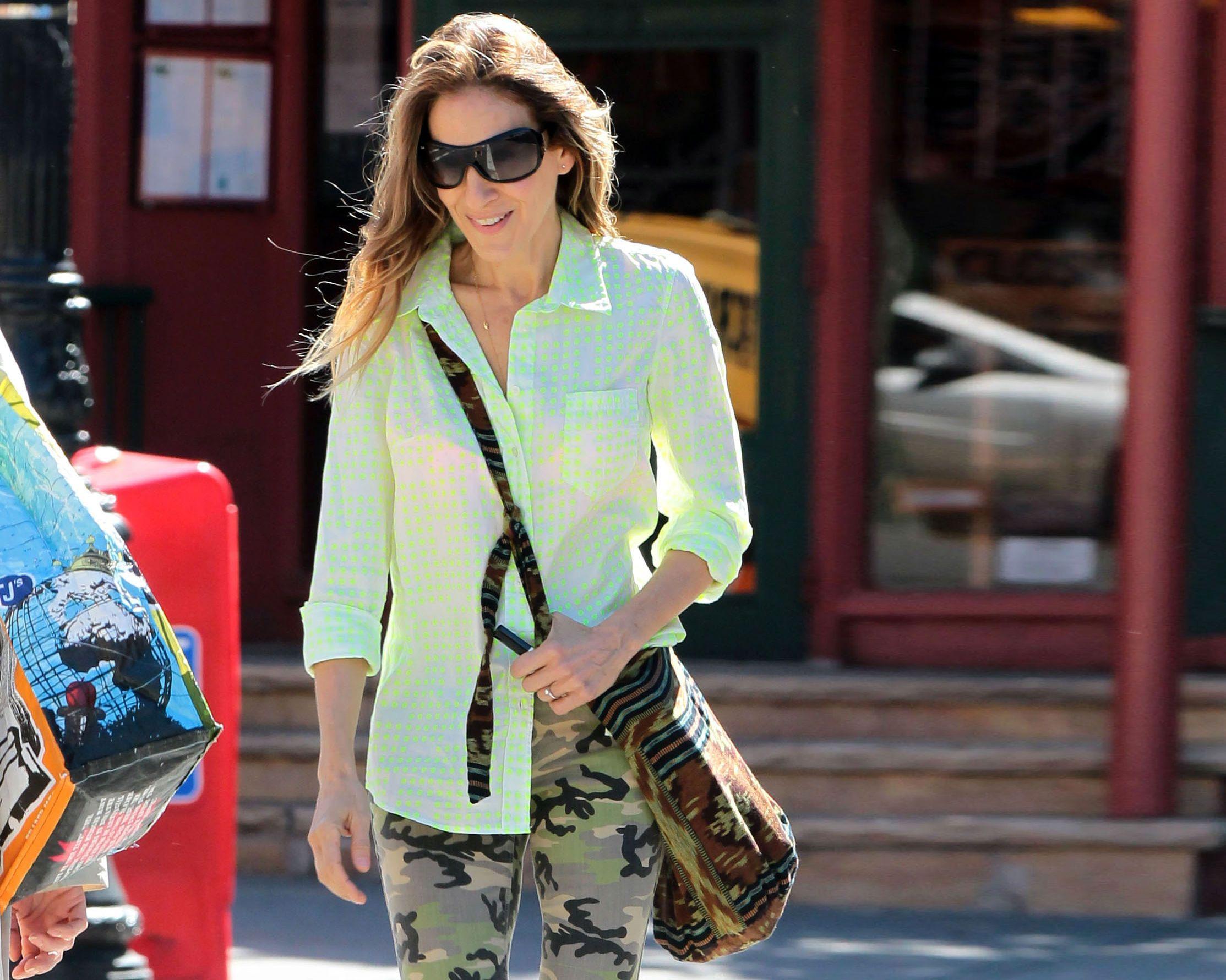 #Camu #outfits: Sarah Jessica Parker, en Nueva York