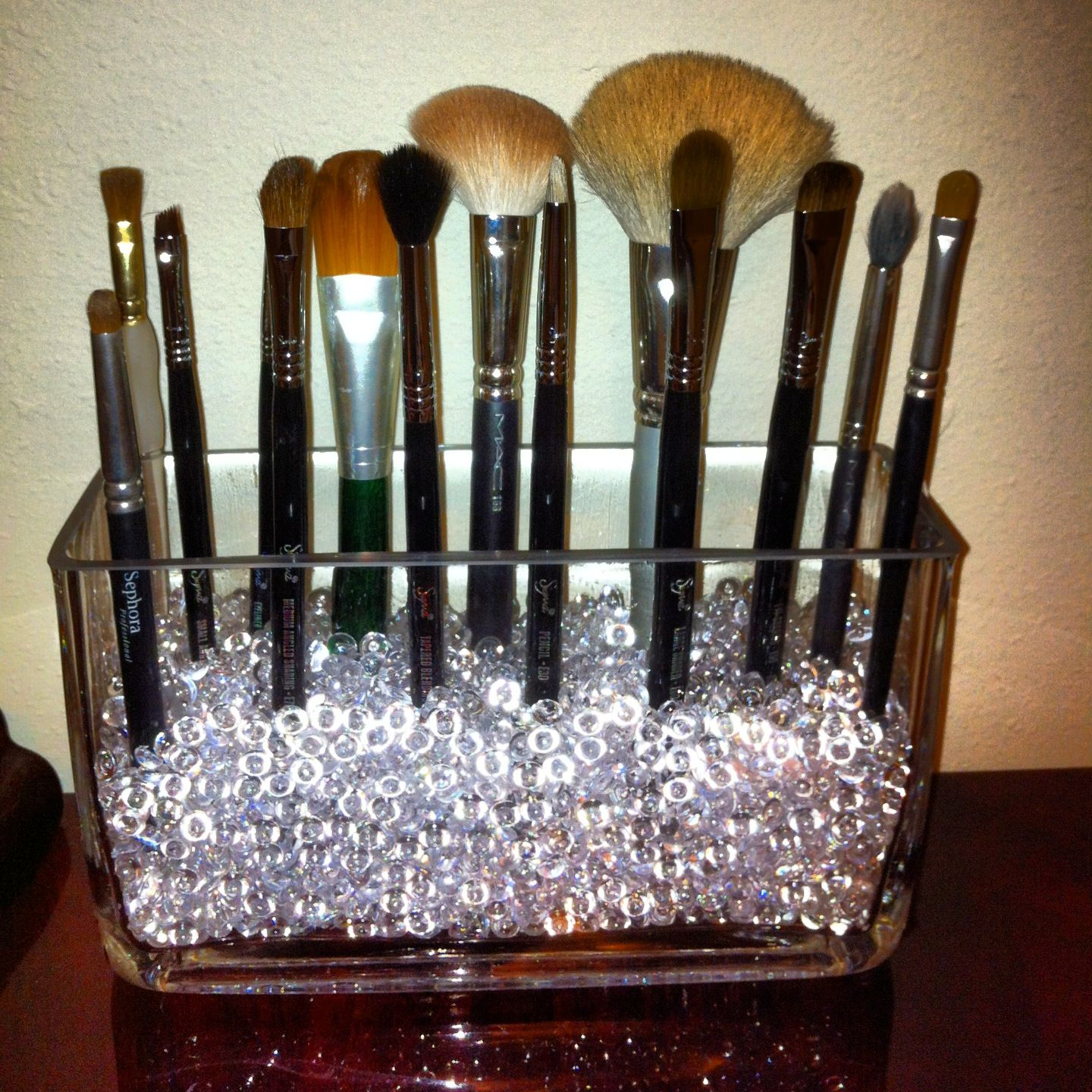 DIY makeup brush holder | Health & Beauty | Pinterest