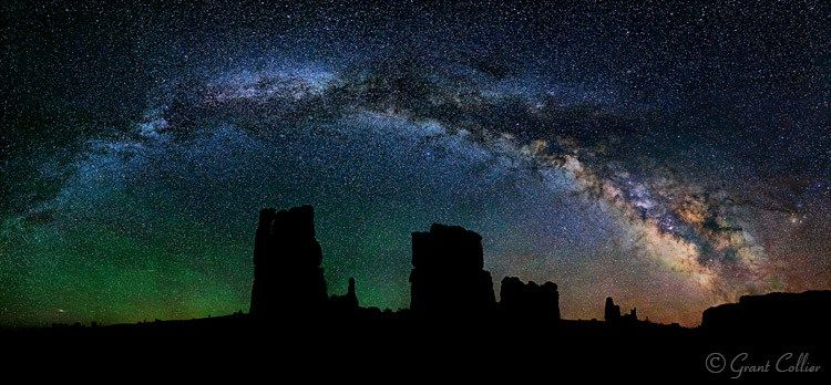 How to Photograph the Full Band of the Milky Way Night