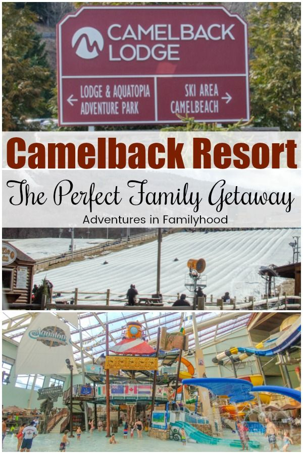 Experience The Best Of Both Worlds At Camelback Resort In