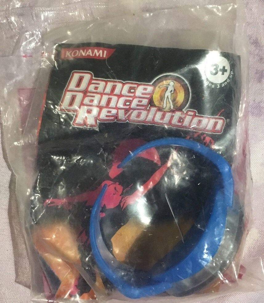 Konami Collectible Burger King Dance Dance Revolution Series Wrist Toy 2006