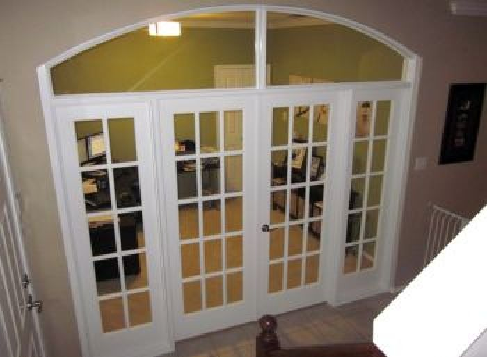 Superieur French Doors On Arched Doorway With Transom Window. LOVE THIS!