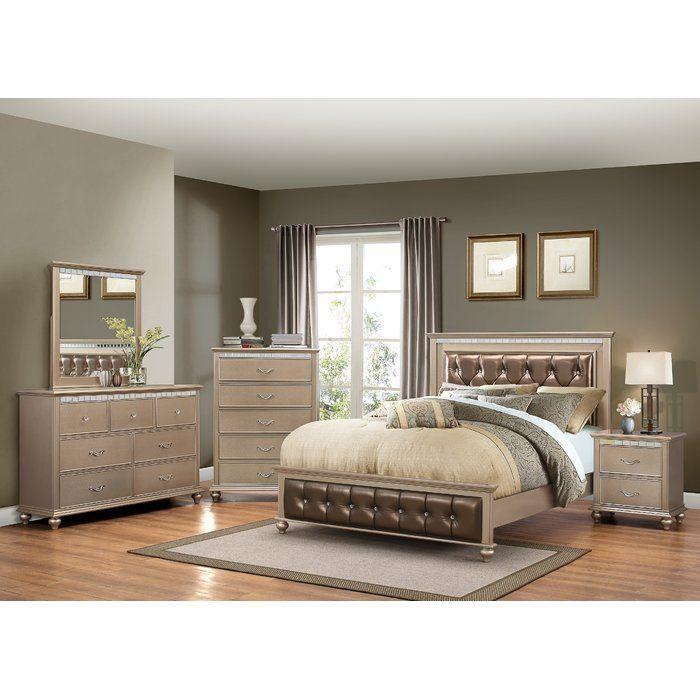 Almerton Platform Configurable Bedroom Set Bedroom Furniture