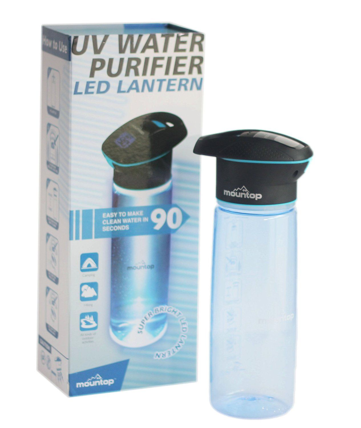 portable water filter. Unique Filter Mountop Portable Water Purifier 750ml  UV Purification System For  Travel Outdoors Intended Filter
