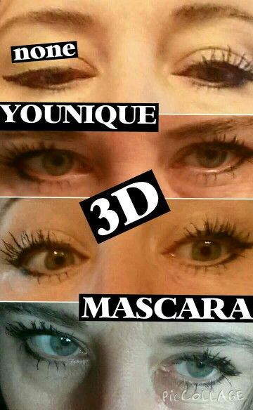 LOVE my YOUNIQUE 3-D MASCARA! Get yours at https://www.youniqueproducts.com/LUSCIOUSLASHESBYLEAH