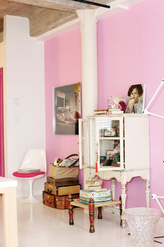 Bubblegum pink paired with elegant pieces shows how the color isn\'t ...