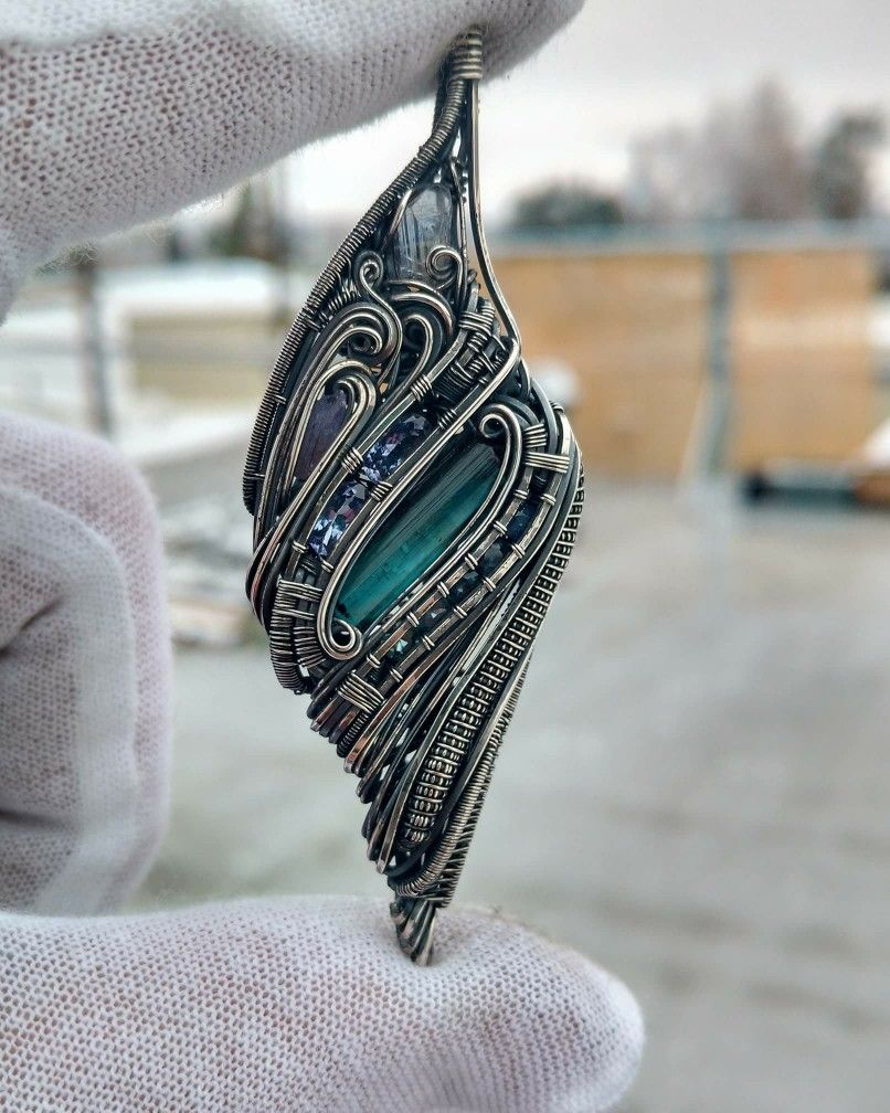 Andrew Just. Nagel | Wire wrapped projects | Pinterest | Wire ...
