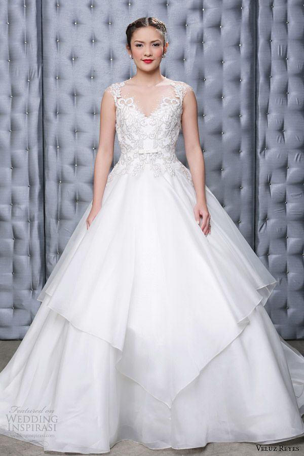 Veluz Reyes 2014 Ready-to-Wear Bridal Collection