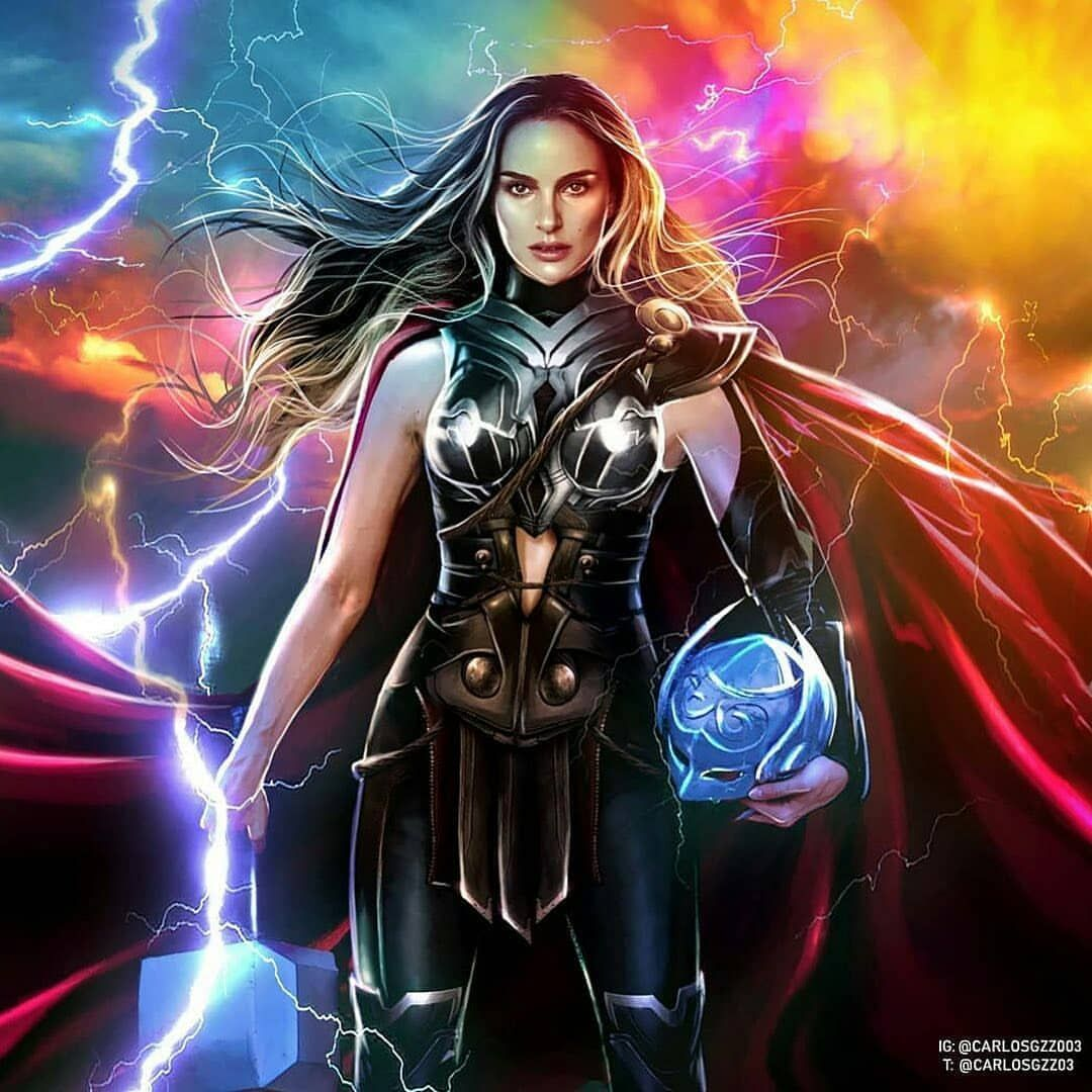 Correction Mighty Thor..Art by carlosgzz003.. Tag Your