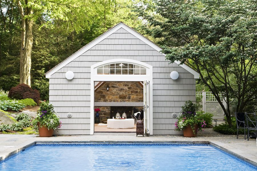 Alexandra_Loew   pool house   great inspiration for a small cottage