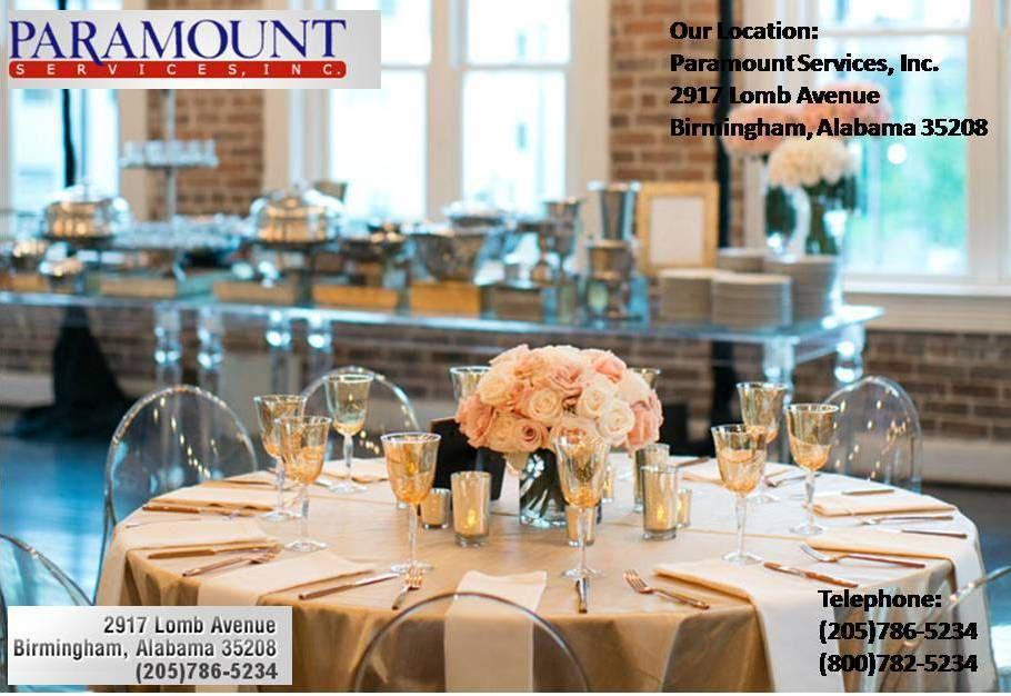 Linen Rentals Company in Alabama Linen rentals