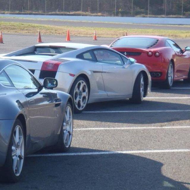 Triple Threat Aston Vantage Lamborghini Gallardo Ferrari F430
