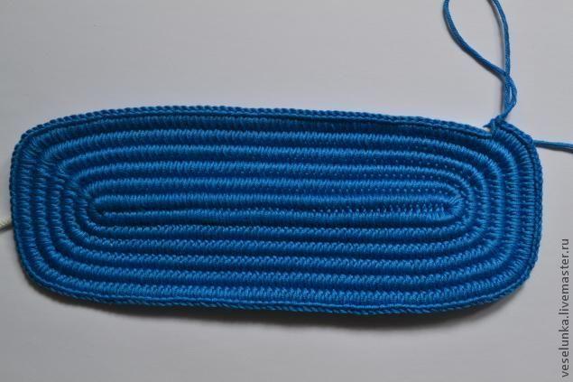 f2209e505442 Сегодня я поделюсь тем, как связать плотное и удобное дно для сумки,  прилагая минимум
