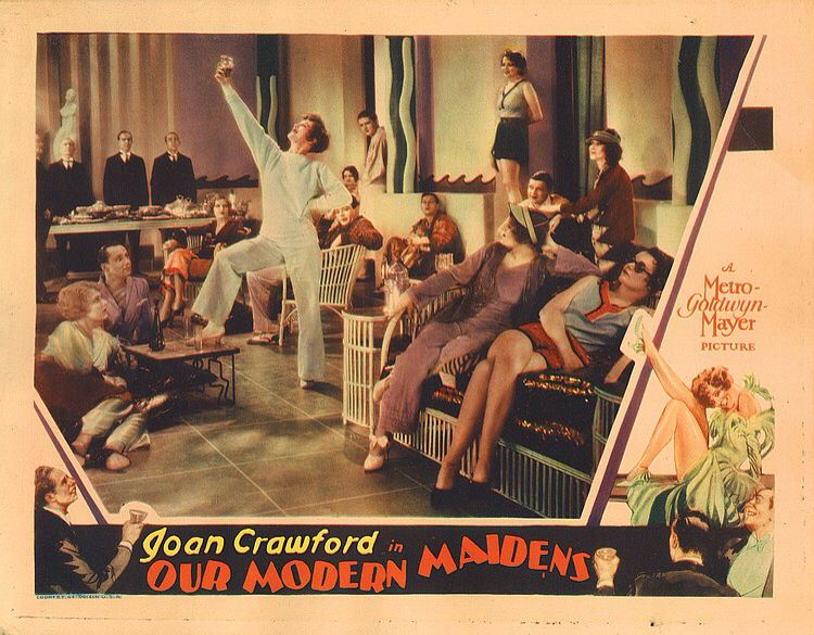 Lobby Card From The Film Our Modern Maidens Poster Film Modern