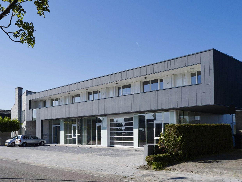 Enzo architectuur & interieur ® bedrijfspand met appartementen