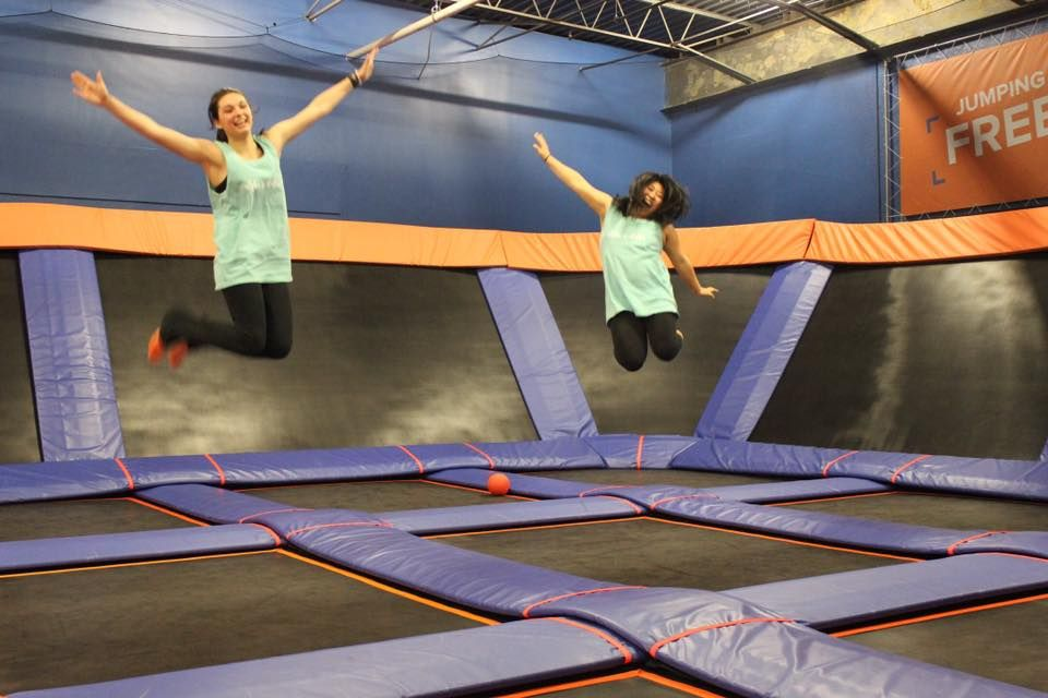 The Most Epic Indoor Playground In Virginia Will Bring Out The Kid In Everyone Indoor Playground Indoor Trampoline Playground