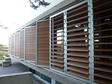 Celosias Madera Exterior Buscar Con Google Outdoor Shutters Modern Eco Friendly Home Outdoor Blinds