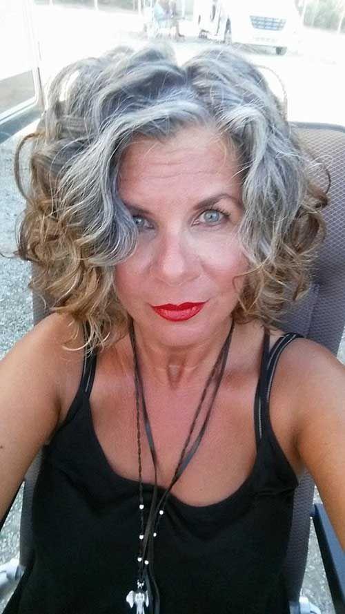 25 Beste Kurzhaarschnitte für Frauen mit lockigem Haar #layeredcurlyhair