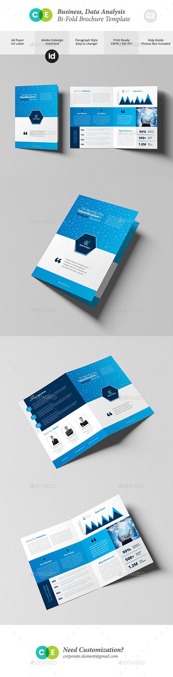 Business Data Analysis BiFold Brochure V  Brochures Brochure