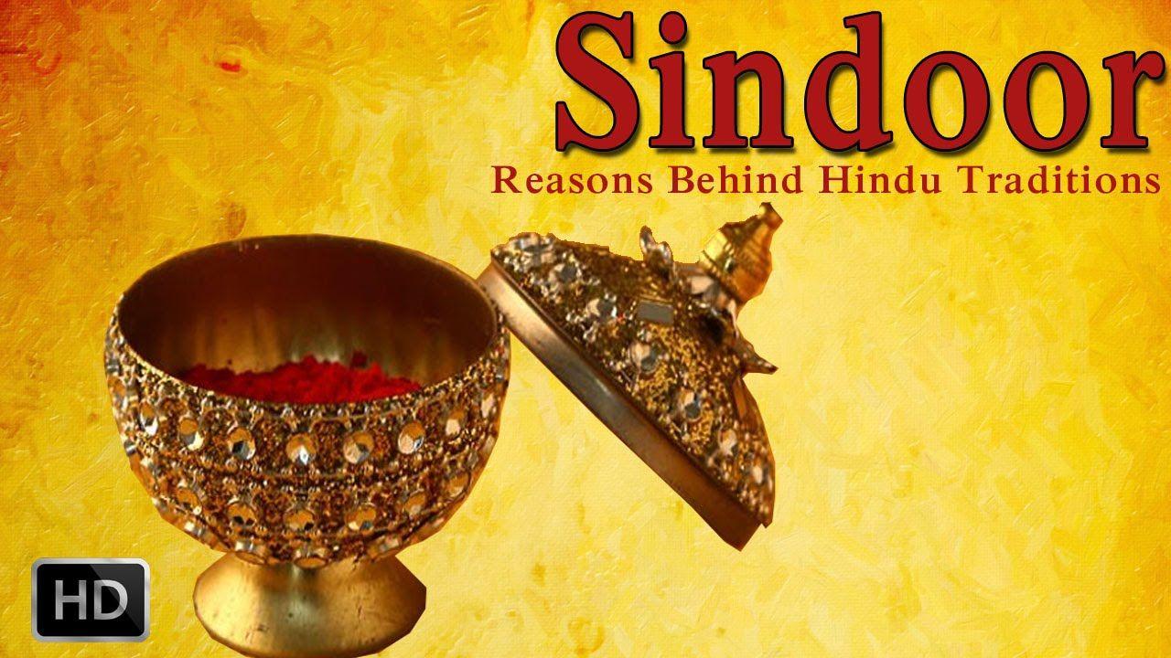 Sindoor - Why do Indian Married Women Apply Sindoor/Kumkum On Their