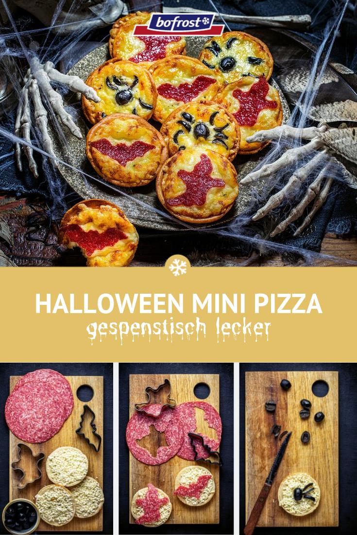 Halloween Mini Pizza – einfache Rezeptideen für deine Halloweenparty
