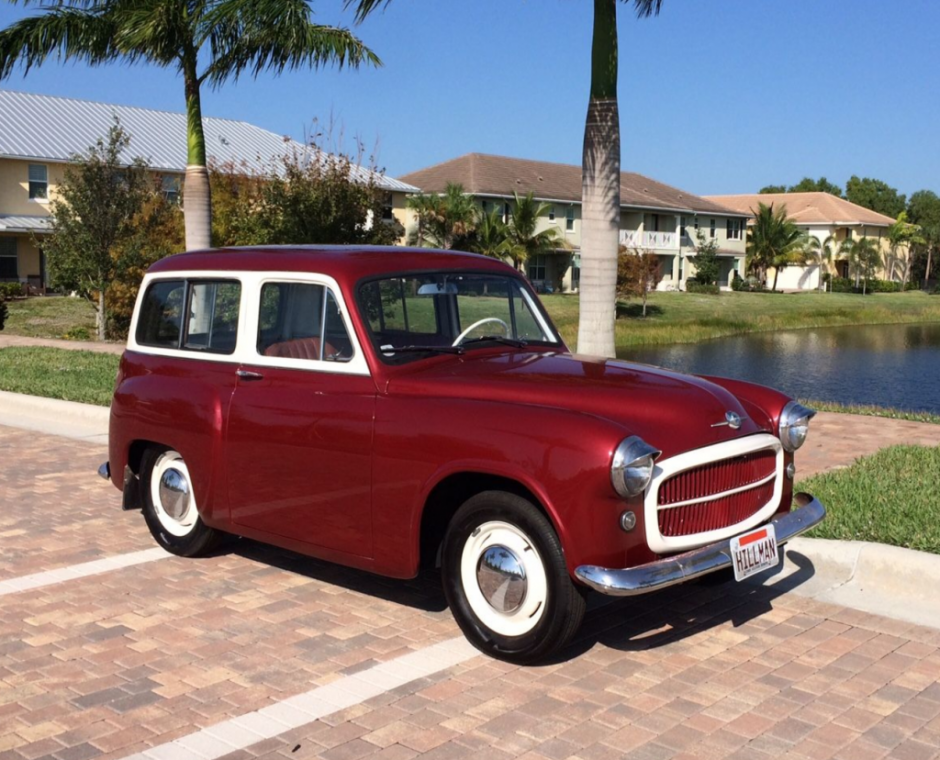1957 Hillman Husky Mk1   Bring a Trailer   Cars   Pinterest   Mk1 ...