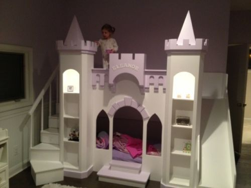 Best New Custom Princess Eleanor S Castle Loft Bunk Playhouse 400 x 300