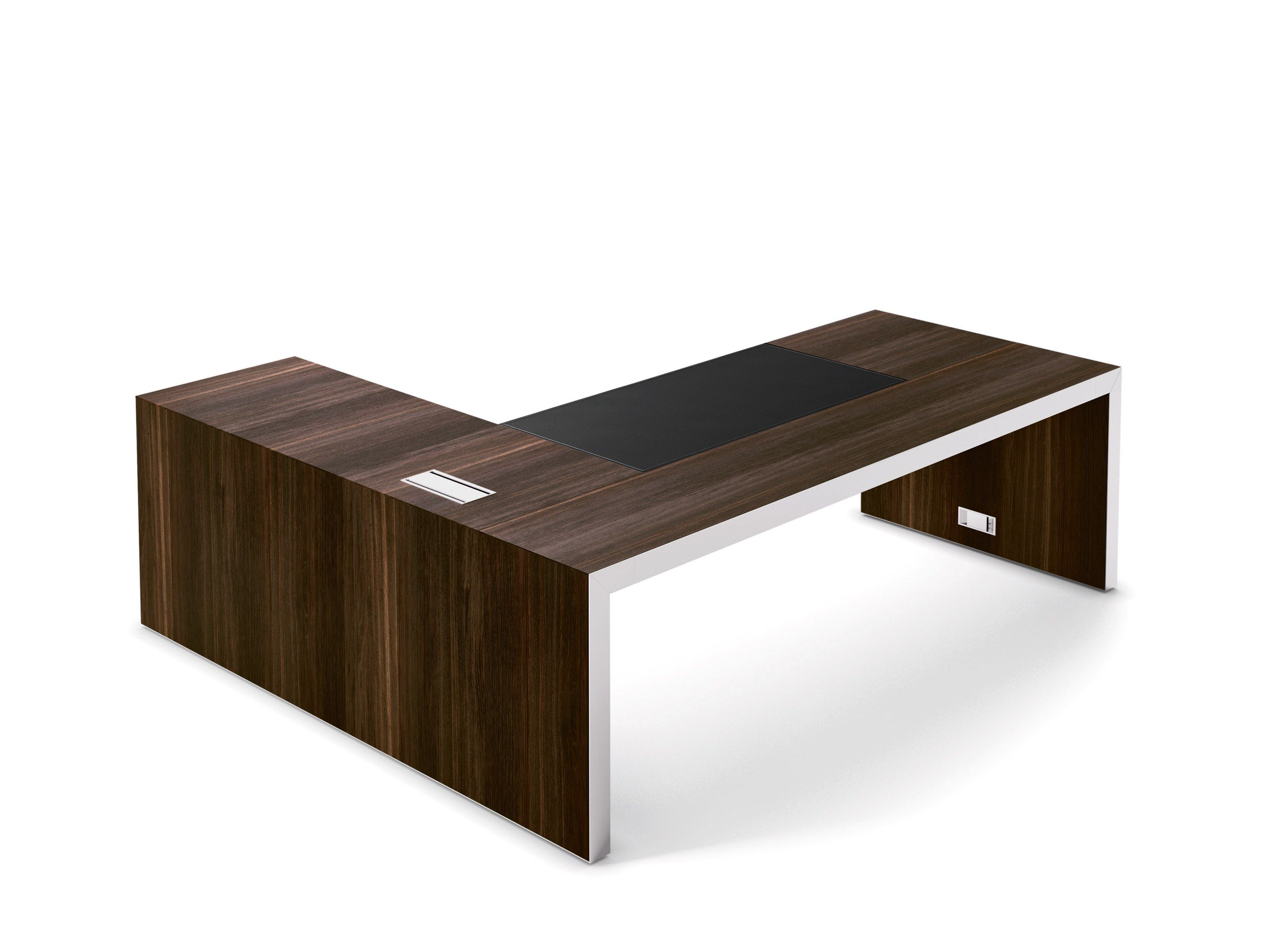 L Shaped Executive Desk Vogue By Sinetica Industries Design Sinetica Design Lab L Shaped Office Desk L Shaped Executive Desk Desk