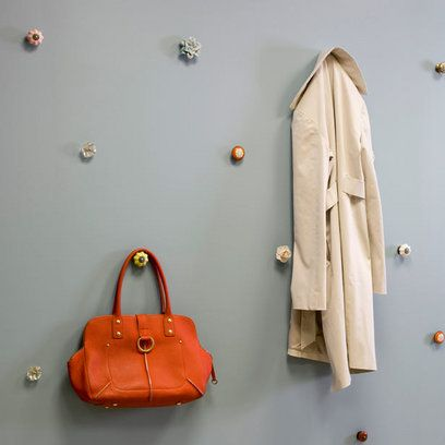 Cute hat storage but I also like this idea for my purses!