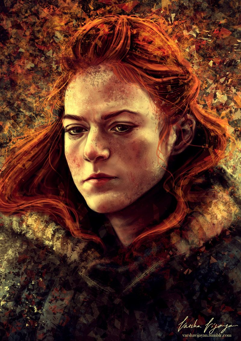 Ygritte by Slashaline #GameOfThrones / Game of Thrones