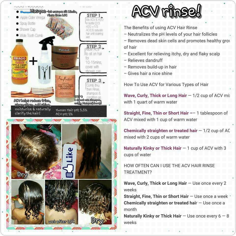 Acv Rinse Natural Hair Diy Acv Hair Acv Hair Rinse