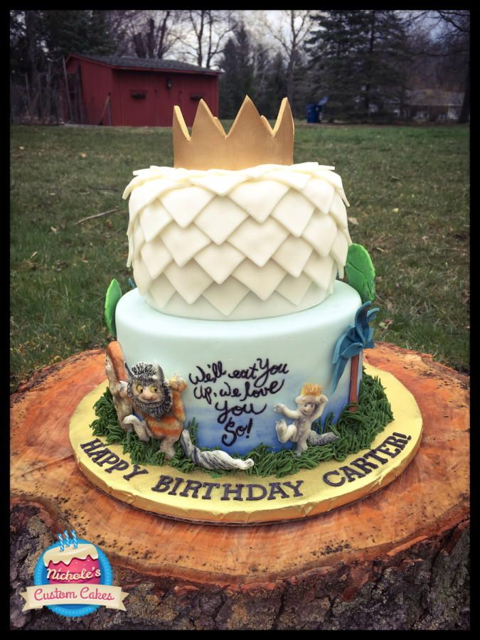 Where The Wild Things Are Cake Cake By Nicholescustomcakes With