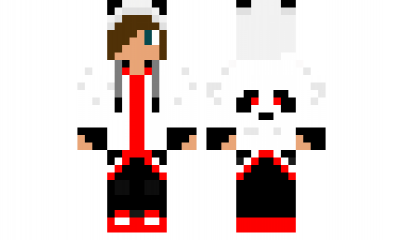 Minecraft Skin Red Panda Red Minecraft Skins Pinterest
