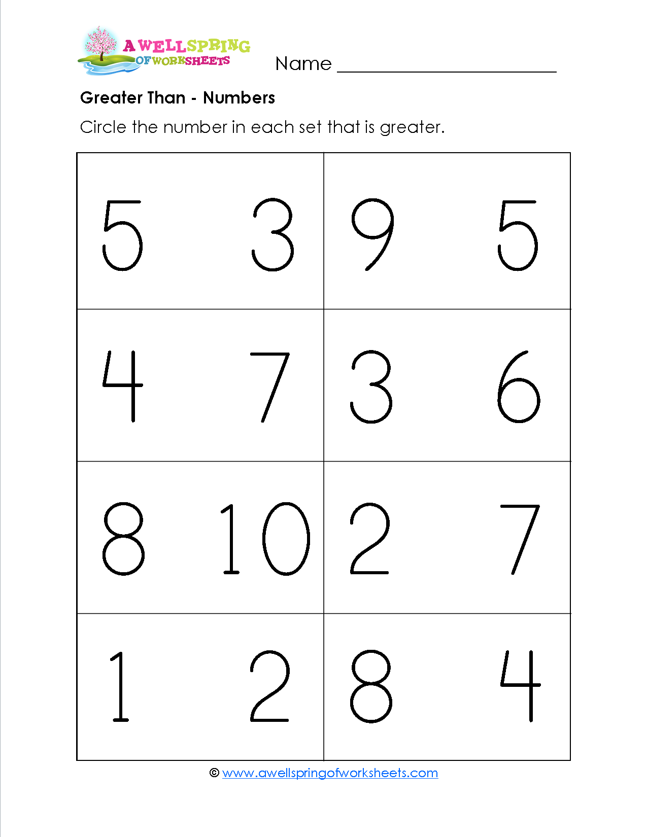 worksheet Worksheets For Greater Than And Less Than grade level worksheets math and kindergarten a wellspring of worksheets