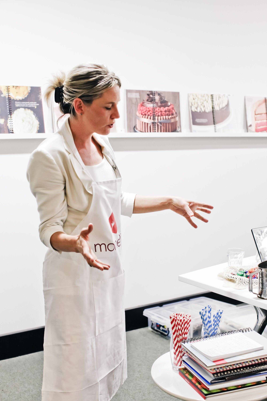White apron health - Libby Jeffery Sporting A Lovely Momento Apron Photo By Lisa Ryman
