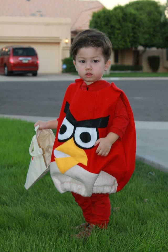 Toddler size Angry Bird Costume (Ld)  sc 1 st  Pinterest & Toddler size Angry Bird Costume (Ld) | costumes | Pinterest | Bird ...