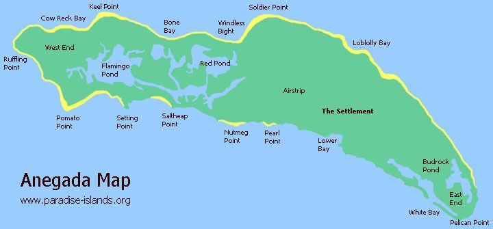 Anegada Map Loblolly Beach in BVI Place Pinterest Virgin