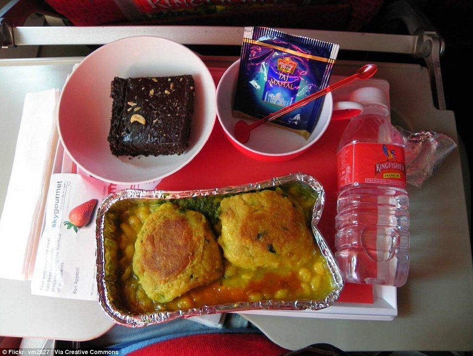 Airline food from around the world revealed (but not all