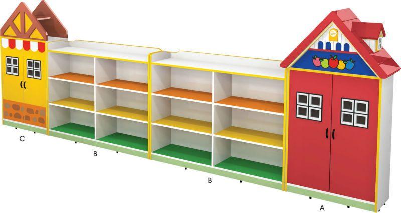 Delightful Kidu0027s Wardrobe/locker,Storage Unite,Daycare Furniture,Kindergarten .