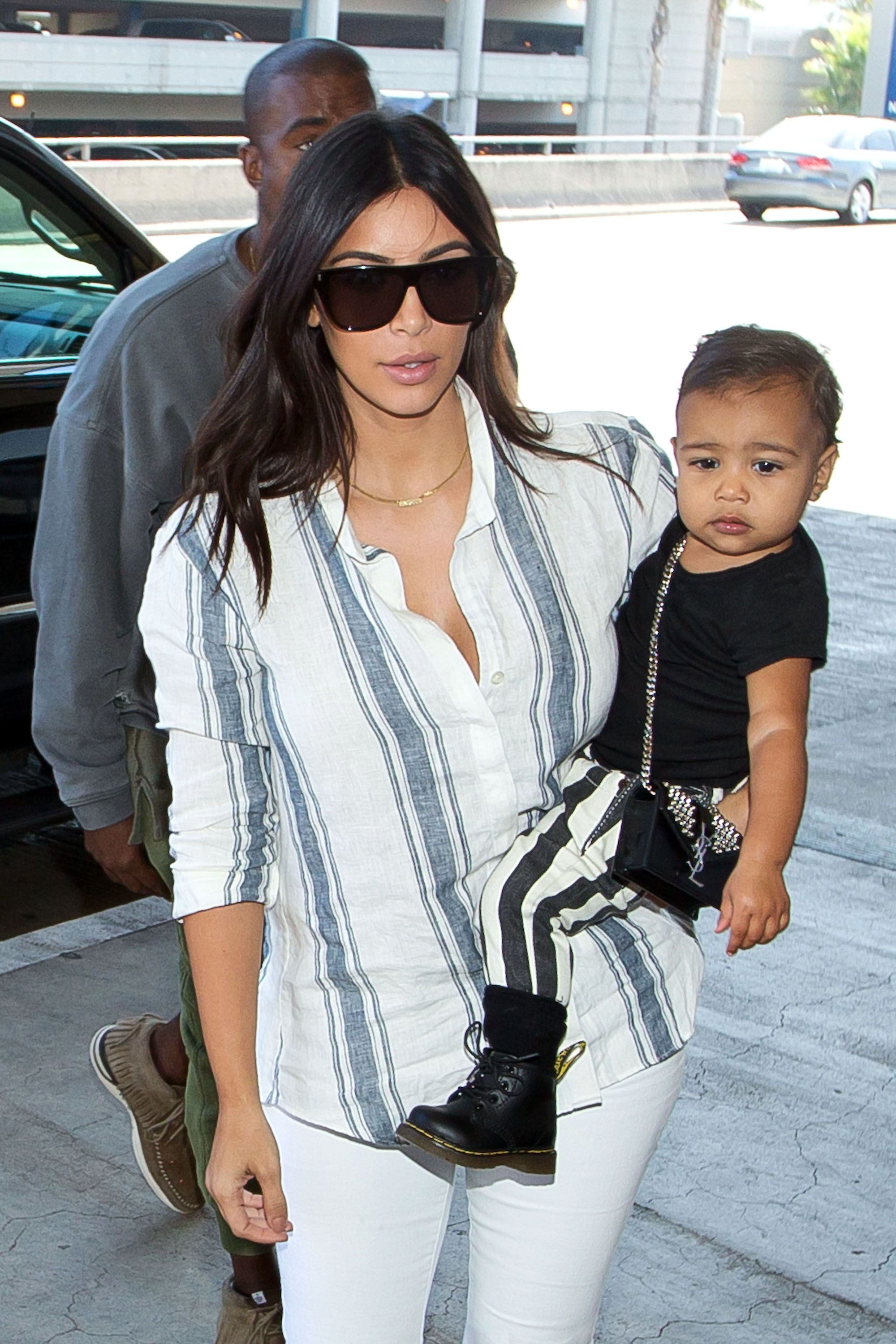 North West Channels Her Sportier Side While Eating Fun Dip